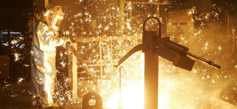 Edgar Thompson Steel Mill.  Photo by Jason Cohn